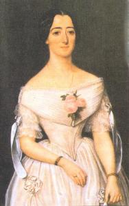 Santa María Micaela en su juventud
