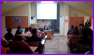 Charla Fundación Amaranta en el Centro Fp Jorbalán