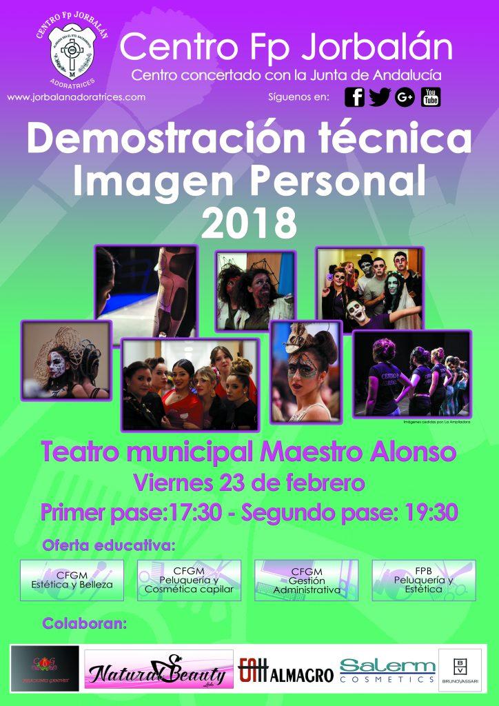 Demostración técnica de imagen personal del Centro Fp Jorbalán